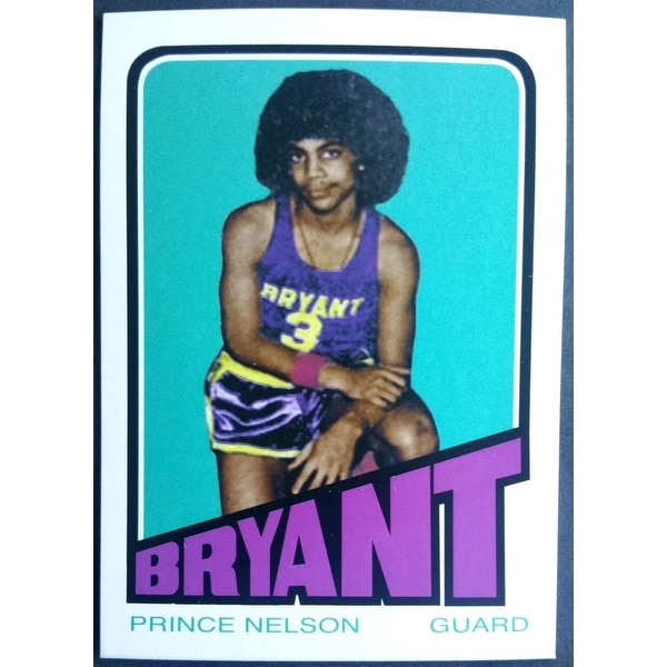 Prince Nelson Bryant Junior High Novelty Basketball Trading Card
