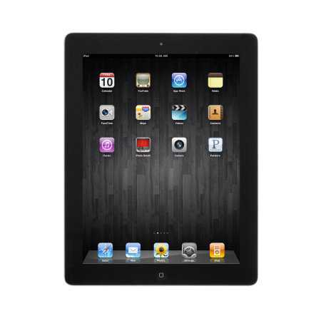 Refurbished Apple iPad 4 16GB 9.7' Retina Display Tablet WiFi Bluetooth & Camera - Black