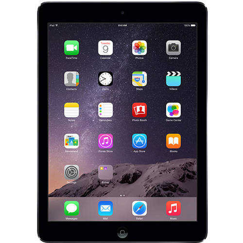Certified Refurbished Apple iPad Air MD785LL/A (16GB, Wi-FI, Black with Space Gray)